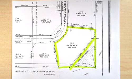 Maple Ridge Drive Lot 4